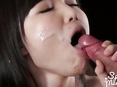Asian Mouthful Bukkake