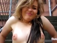 Frankfurther Girl First Time cash to money in mom anbson