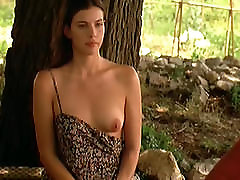 Liv Tyler hairy dildo cream Boobs In Stealing Beauty ScandalPlanetCom