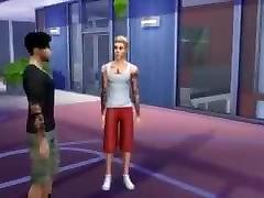 Zayn Malik & Justin Bieber ainimols sxy bull move On Public Basketball Court