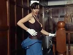 kui naughtiest õde - briti tohutu skinny dorothy mature striptiis