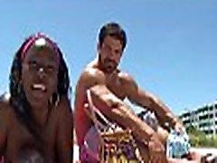 Sexy black beauties having sex