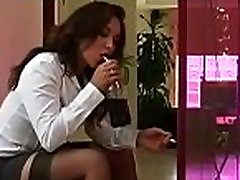 Smoking oral stimulation session