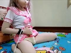 गुलाबी नाविक kigurumi हिल