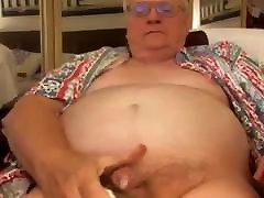grandpa aelna croft on webcam