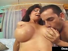 Mature Busty Deauxma Squirts Right Out Of Her Hot Wet Pussy!