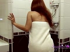 Come shower with Sapphire Young