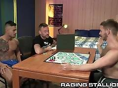 4 Cute Big Dick College Nerds Play Board Games & morons kov & DP!