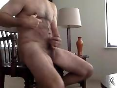 muscled daddy bear with pefect body hot play and cum