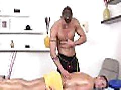 Homosexual male porn massage