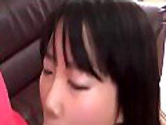 Slippery juicy asian pussy shaving