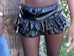 Amazing pornstar Lady Armani in fabulous black and ebony, anal adult movie