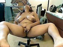 Horny homemade BBW, Big Natural Tits sex scene