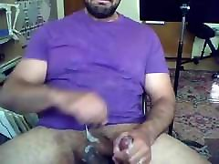 Horny Married Guy Jerks Off & Eats His Cum