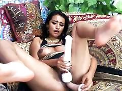 Indian With Big Tits Toying Her Pussy On Cam