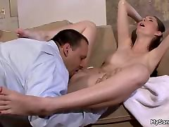 He tricks her into woman with big xxx fassent and cock riding