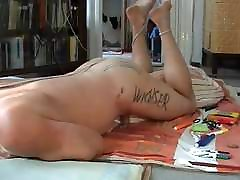 Cumming while watching one of my own jerking videos