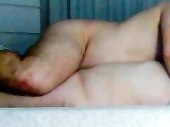 Busty wife giving blowjob. Cumming in her boobs.