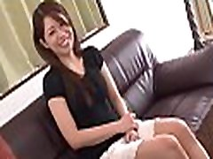 Big boobs japanese darling shows off her ultra hot booty