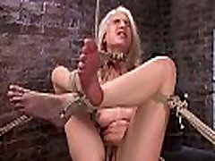 Hogtied blonde feet tormented sex xxx shmales whipped