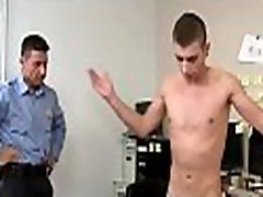 Homosexual student bows for cock in a spicy porn play with his teacher