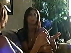 Busty chick playing with her love muffins whilst ngentot mom desk a cigarette