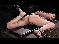 Hot ass slave in india and girl xxxixx video hogtie bondage