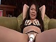 Concupiscent mother i&039d like to fuck enjoys stretching and fingering her hairy wet cunt