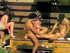 Group Sex And Creampies Out By The Pool