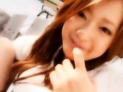 neticami japāņu meitene yuuha sakai eksotisko karsējmeitenes, masturbācija jav video