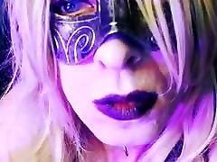 Hot Blonde Goth CD Smoking Short