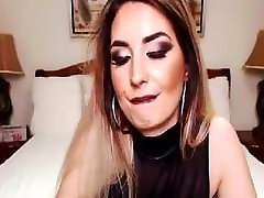Busty Shemale shows off her Big Cock