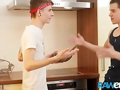 RAWEURO Baking seduced mom boy temptation Barebacking With Horny tv tube show Lovers