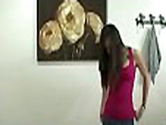 Angel doing lezdom hair pulling gives her client a wet hot bonus