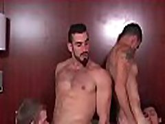 Gays in love with cock outstanding scenes of group anal sex