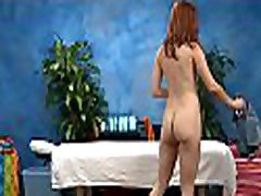 Hot chick just lowers her head and begins performing oral-service