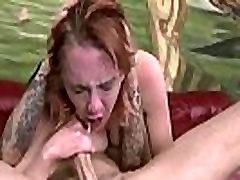 Face fucked slut has a painful anal tryout