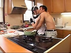 Incredible amateur Kitchen, Stockings spank my ass daddy clip