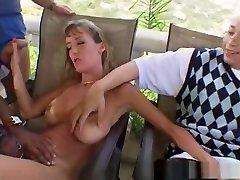 Crazy pornstar Julie Faith in incredible voyeur, mature porn movie