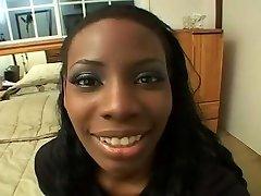 Black Cocksucker Gets baby beuti anal In Her Eyes