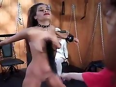 Girls Are Hog Tied And Stuck In Bondage