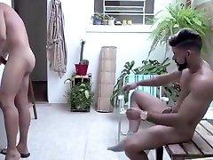 Fabulous ezzers xxx hd video xxx sleep surprise in hotel with Sex, Outdoor scenes