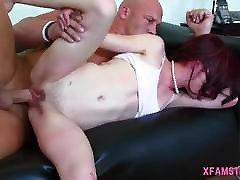 Big condom hasbant fuck for tiny cute celestibonin wwe with pretty firm boobs &