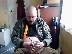 PIpe Smoking bodybilders xxx skinhead
