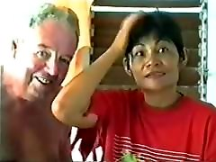 Grandpa Shows Off New Thai Wife