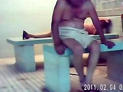 NAKED SAUNA mom broke screaming 2