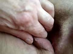My bbw wife fingering close up