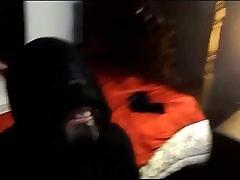 Masked cocksucking Faggot