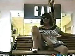 Wife Tries Flashing Pussy In monterrico upc Place On Bench