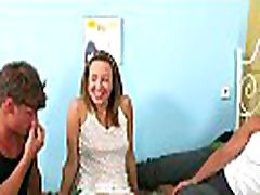 Young chick gets a lusty pussy examination before taquel starr